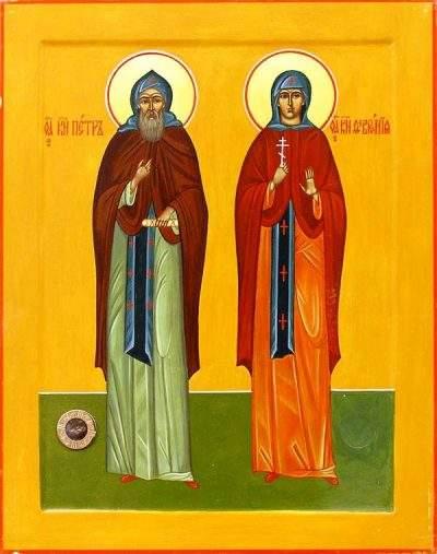 Святых преподобных Петра и Февронии